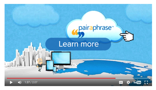 Learn more about Pairaphrase