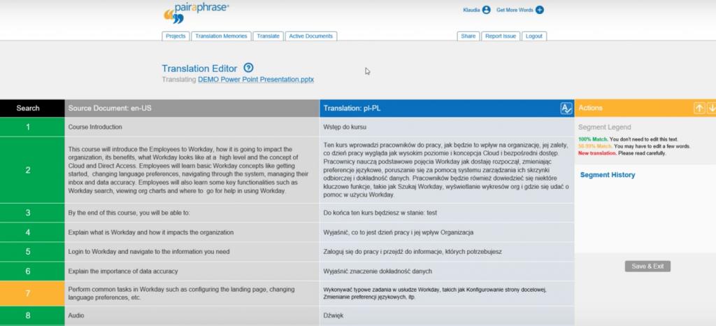 Online Translation Management System